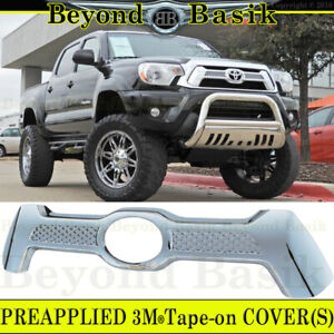 For 2012 2013 2014 2015 Toyota Tacoma Chrome Grille Grill Cover Overlay Insert