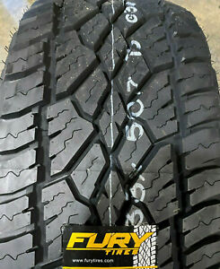 6 New Lt 285 70r17 Fury Country Hunter A T All Terrain 285 70 17 R17 Lre 10 Ply