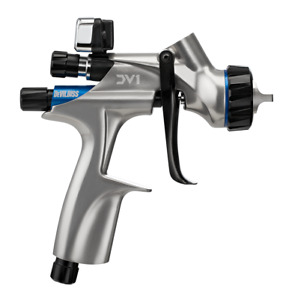 Devilbiss 704504 Dv1 Basecoat Spray Gun 1 2 1 3 1 4 Tips Brand New