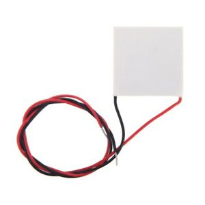 3x 40 40mm Thermoelectric Power Generator High Temperature Generation Elements