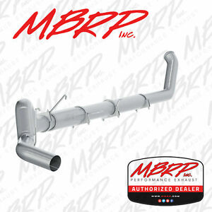 Mbrp 5 Inch Straight Pipe Exhaust Nm Fits 2003 2004 Dodge 2500 3500 5 9l Cummins