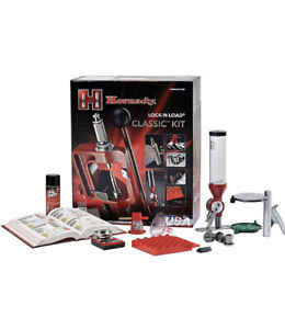 Hornady Lock N Load Classic Kit Single Stage Reloading Press Ships Fast $549.99