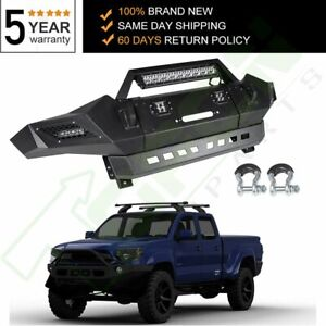 Front Bumper Steel Step Assembly Fits Toyota Tacoma 2005 2015 Textured Guard
