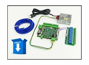 Centroid 4 Axis Acorn Diy Cnc Motion Controller Kit rev 4 With Cnc Software