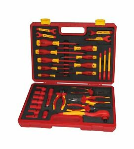 Booher 0200408 30 piece 1000v Vde Insulated Tools Set