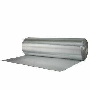Reflectix Double Sided Insulation Radiant Vapor Barrier Single Bubble 4x4 R7