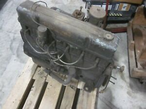 1957 Chevy Chevrolet 235 Engine Assembly Inline 6 Cyl 3836848