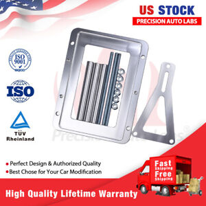 Universal Billet Battery Tray Hold Down Relocation Box Aluminum Car And Trunk