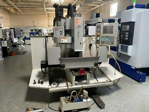 Used Haas Tm 2 Cnc Toolroom Mill Vertical Machining Center 10 Station Atc 2006