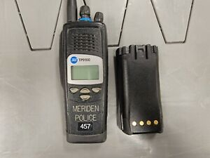 Tait Tp9100 800mhz P25 Portable Radios With Antenna Battery