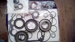 Nos Oem Ford 4f50n 04 Up Overhaul Kit With 4 Molded Pistons Molded Pan Gasket