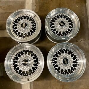 Rare Item Genuine Bbs Rs055 Rs056 Wheels Rims 16x8 16x9 For Porsche 911 930 944