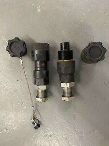 Cat Hydraulic Hammer Male And Female Coupling Fitting Caterpillar