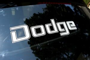 Tailgate Decal For Dodge Tailgate 1969 1984 Multi color Vinyl Decal Sticker