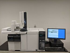 Agilent 7890b 5977a With Ei ci Gc ms With 7693 Autosampler Low Runs