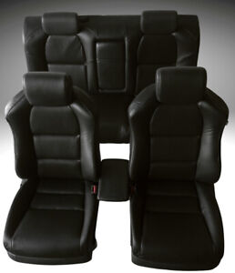 For 05 06 Acura Tl Seat Cover Replacements Upholstery Perforated Pu Leather Set