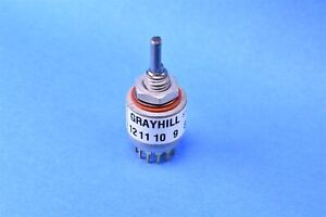 Grayhill Rotary Switch 4 Position Dp4t 150ma 200ma 115vac 51spt30 01 2 04n