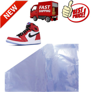 Shoe Shrink Wrap Bags 50pcs Sneaker Shrink Wrap Bags Large Shoes Protector For M