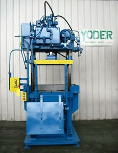 20 Ton Will Brothers Hydraulic Trim Press Yoder 19285