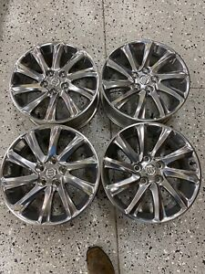 2019 2021 Buick Envision 18 Polished Factory Oem Wheels 23316867