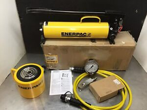 Enerpac Rcs1002 Scl1002h Hydraulic Cylinder 100 Ton 10 000 2 Stroke P80 Set