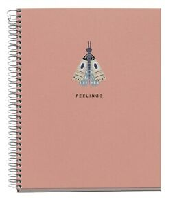 Miquelrius 4 subject Recycled College Rule Notebook 6 5x8 Naturally