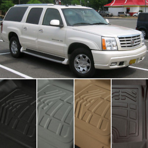 Surefit Floor Mats Front Second Row For 2003 2006 Cadillac Escalade Esv