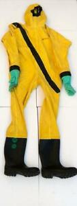 Hygrapha Rinba 110 Ef n Chemical Protective Protection Complete Suit Size Xl 2