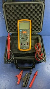 Fluke 1507 Insulation Tester Excellent Screen Protector Hard Case More