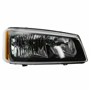 Headlight For 2003 2006 Chevy Silverado Truck 1500 3500 Right Fluted Reflector
