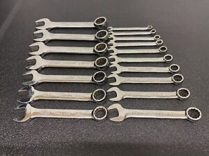 Snap On 8 24mm Short Spanners
