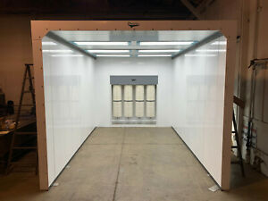 Powder Coating Booth Spray Booth Paint Booth Dust Collector