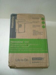 Square D By Schneider Electric Home250spa Homeline 50 amp Spa Panel New In Box