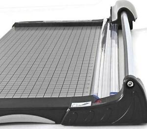 Kw trio Heavy Duty Metal Base Rotary Paper Cutter Trimmer 26 3020 Open Box