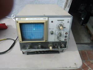 Bk Precision Oscope Model 1466 10 Mhz Tested Working