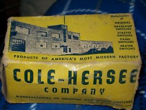 Vintage Cole Hersee Heavy Duty Toggle Switch 595 3 position On Off On