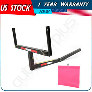 Pick Up Truck Bed Hitch Extender Extension Rack Canoe Boat Kayak Lumber W flag