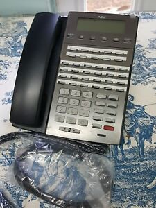 Nec Dsx 34 button Black Backlit Display Speakerphone 1090021 Tested By Dsx Tech