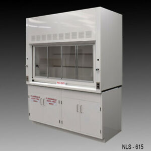 6 Ft Laboratory Bench Fume Hood W Chemical Storage General Flammable E2 113