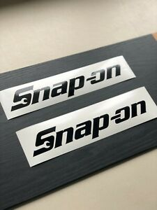 Snap on Tools 12 Decal Toolbox Multi color Vinyl Decal Sticker