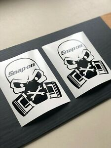 Snap On Tools Gas Mask 6 Decal Toolbox Multi Color Vinyl Decal Sticker