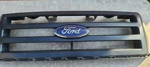 2007 14 Ford Expedition Front Upper Radiator Bumper Grille Grill Mesh Black Oem