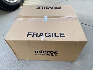 Case Of 4 Micros 700827 028 Lcd Pole Display W 18 Pole New In Box Oracle Pos