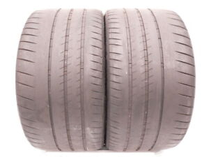 2 Tires 305 30 20 Michelin Pilot Sport Cup 2 103y 60 Life