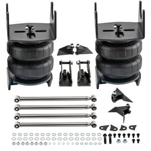 Weld On Triangulated 4 Link Suspension Kit Bars 2500 Bags Air Ride 2 75 Axle