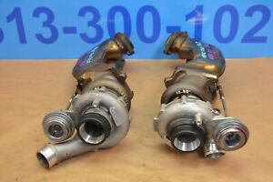 2012 W212 Mercedes E63 Amg M157 Left Right Turbocharger Turbo Chargers Pair