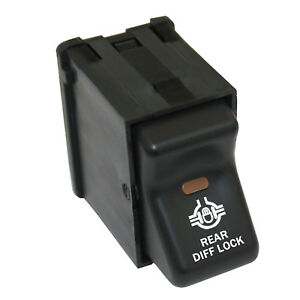Rocker Switch 331 12 V Rear Diff Lock On Off Parts For Jeep Wrangler 1997 2006