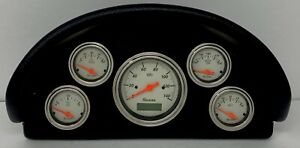1956 Ford Truck Abs Dash Panel 5 Gauge Programmable Shark