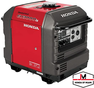 Honda Eu3000is Inverter Generator Portable Gas Powered in Stock
