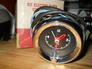 Nos 1963 Ford Falcon Fomoco Clock In Mint Condition